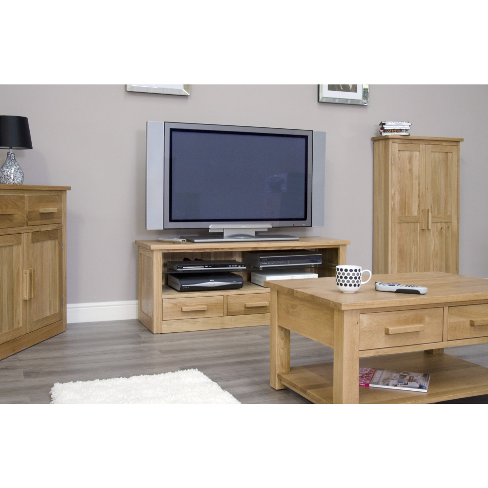 Arden sideboard small storage buffet living dining room solid oak furniture ebay - Small dining room storage ...