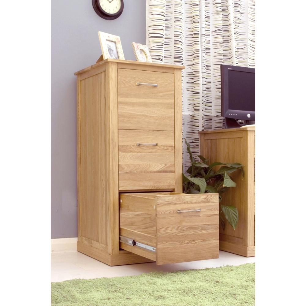 Mobel Filing Cabinet Large Storage Solid Oak Office Furniture Ebay