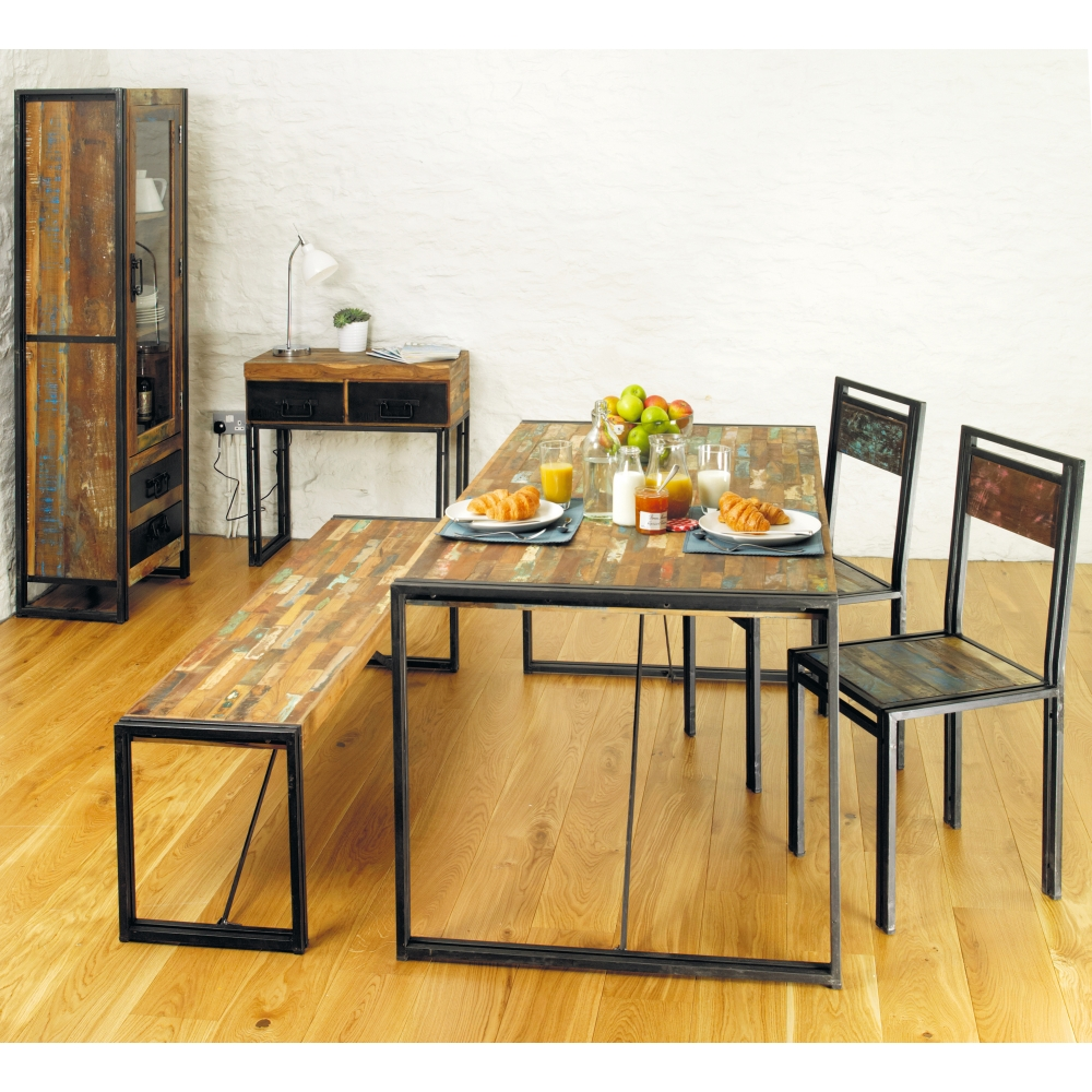 Urban Chic Console Hallway Hall Living Room Table Solid