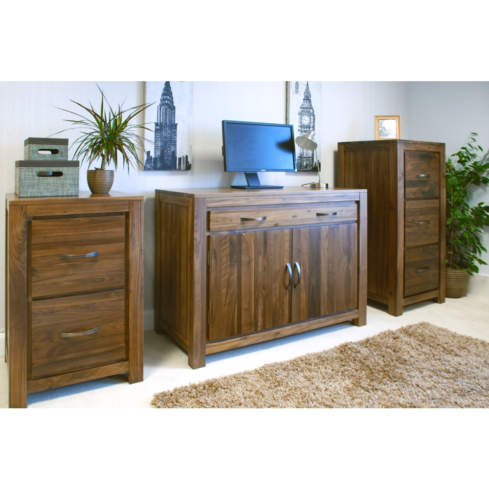 Mayan hideaway hidden home office pc computer desk solid for Hideaway home office