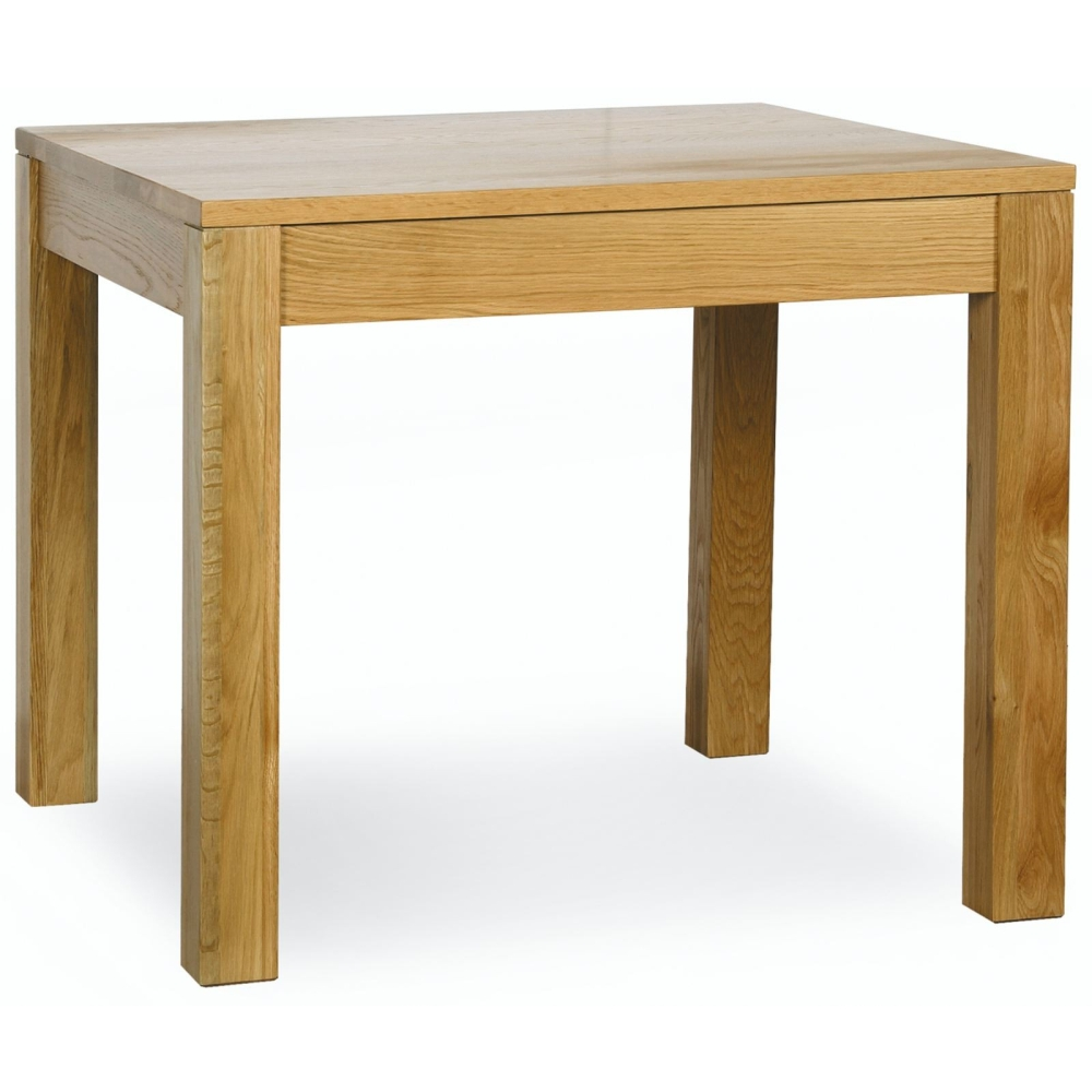 Landon Square Dining Table Solid Oak Dining Room Furniture