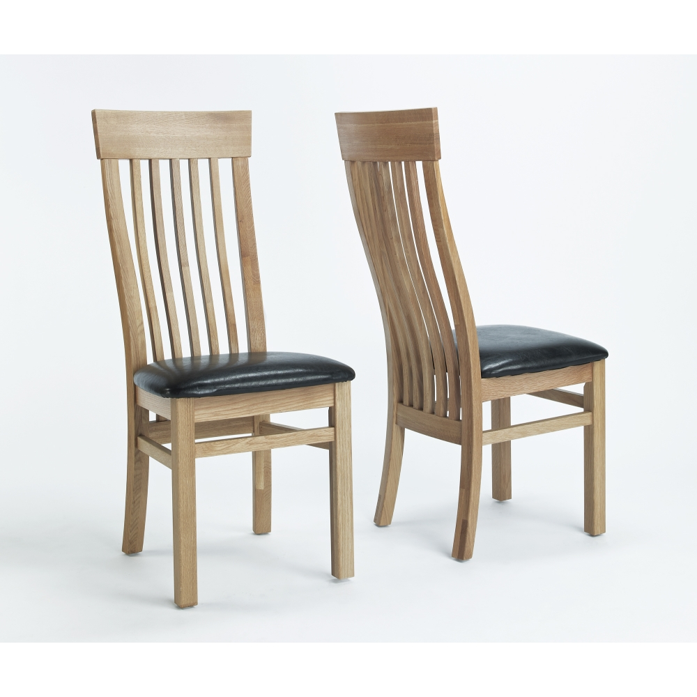 oak dining room chairs ebay gallery
