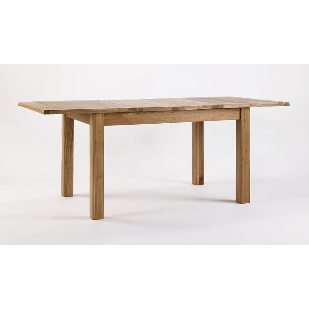 Westbury Solid Oak Dining Room Furniture Extending Dining Table EBay