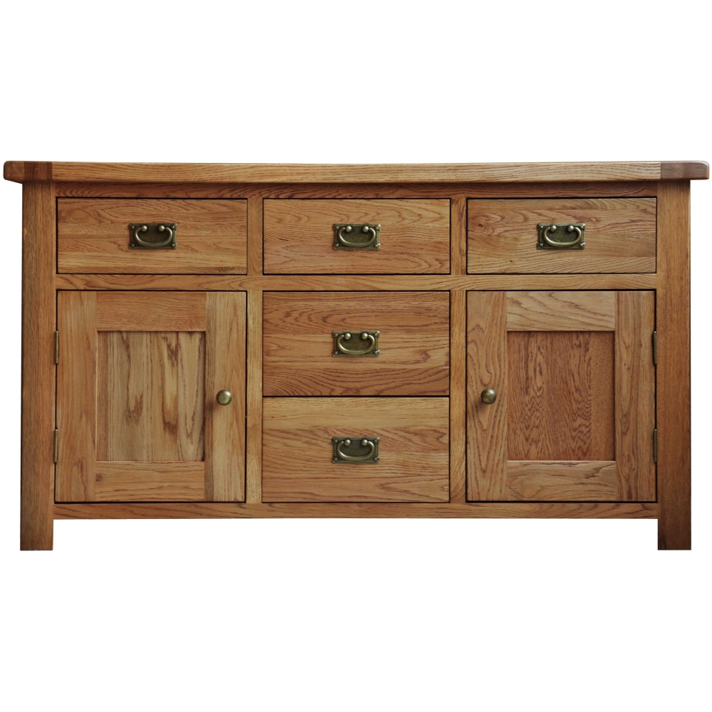 heath solid oak furniture large dining living room sideboard ebay