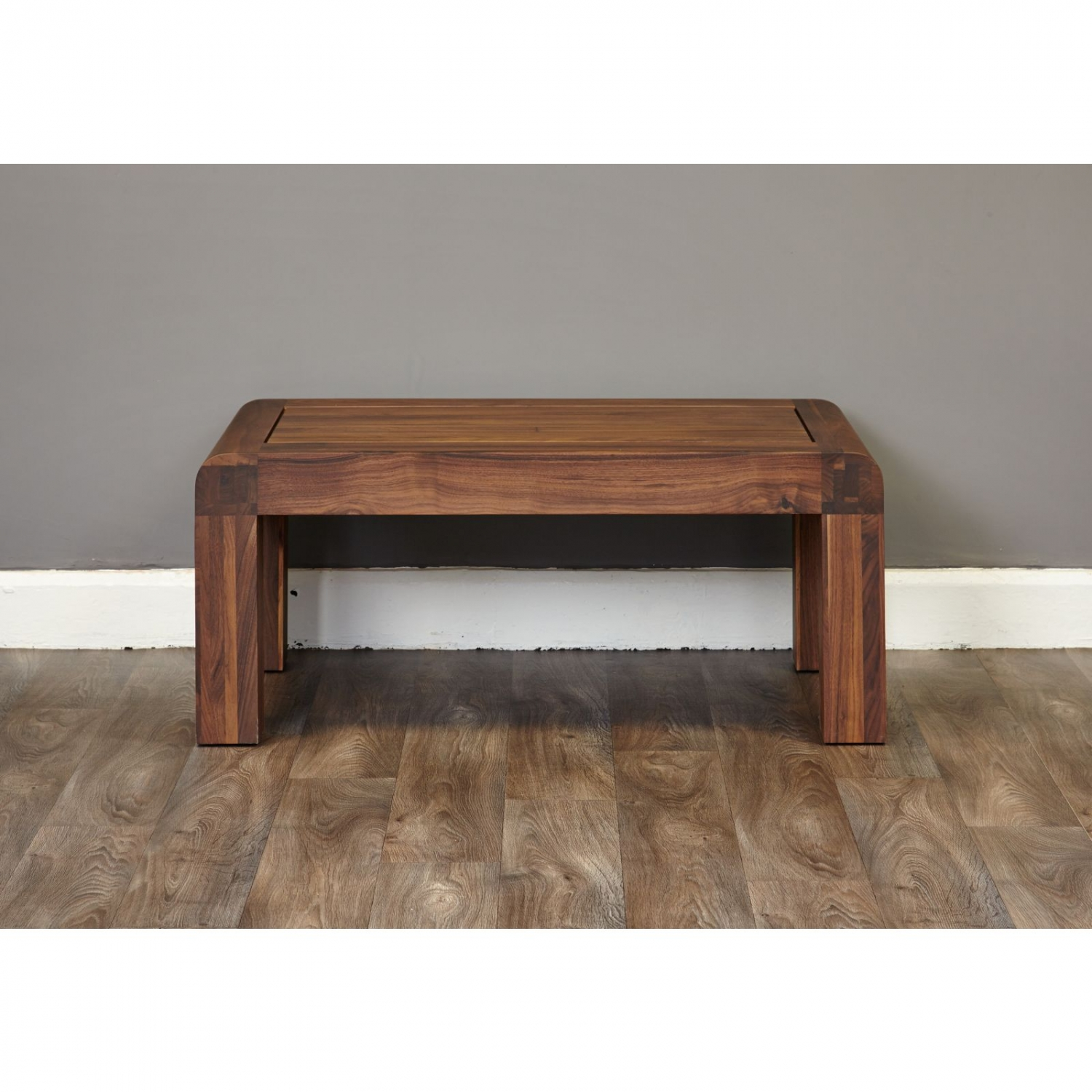 shiro dark wood solid walnut modern living room furniture open coffee