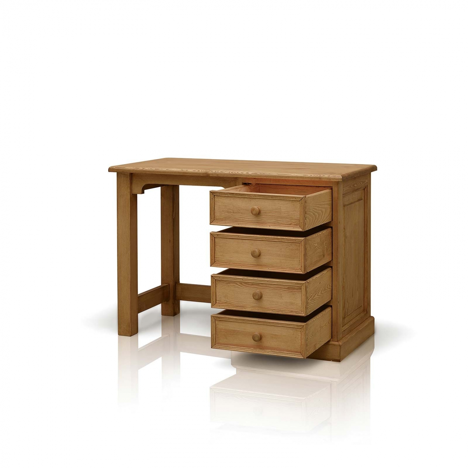 Harrogate Waxed Pine Furniture Small Pc Office Computer