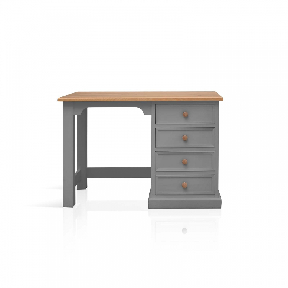 Galway Grey Painted Pine Furniture Small PC Office