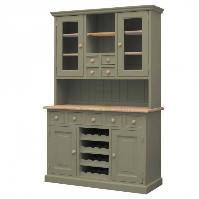 Hampton Green Painted Pine Furniture Glazed Dining Room