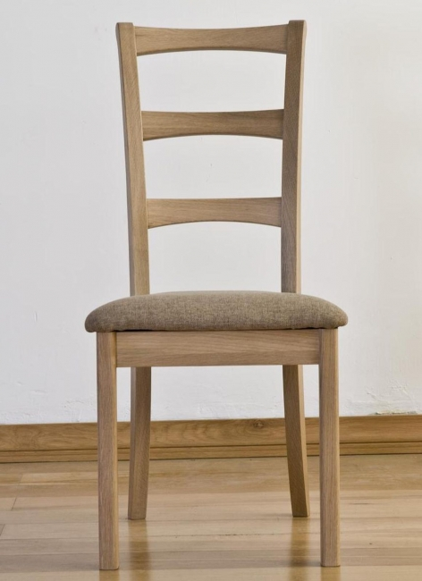details about liston solid oak furniture set of six dining chairs