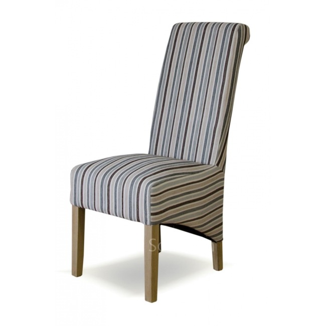 Plum striped dining chairs home decor for Plum dining room chairs