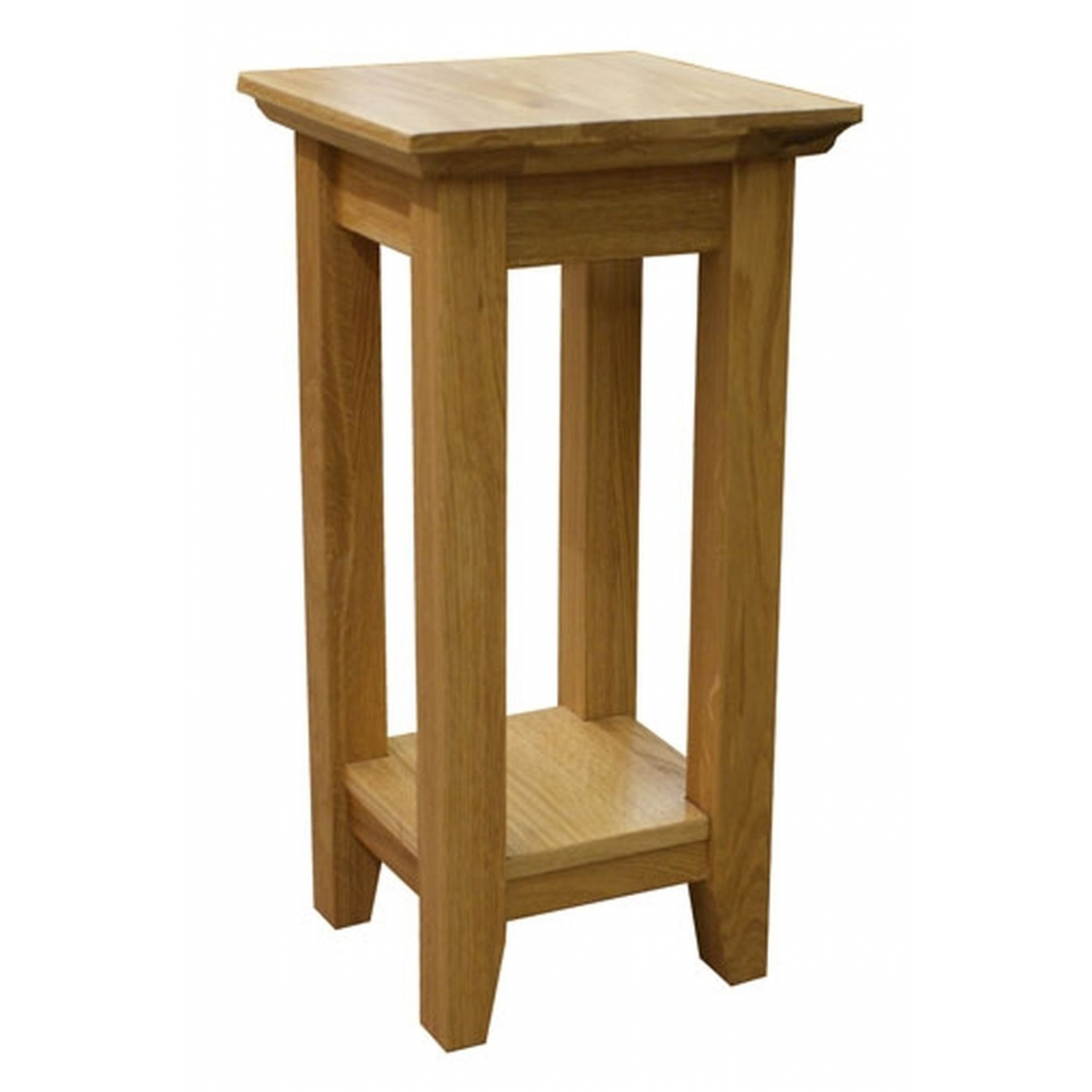 Belfry Solid Oak Furniture Tall Lamp Table Ebay