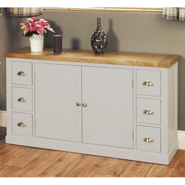 about chadwick grey painted oak furniture living dining room sideboard