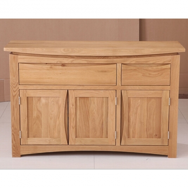 about crescent solid oak dining room furniture large storage sideboard