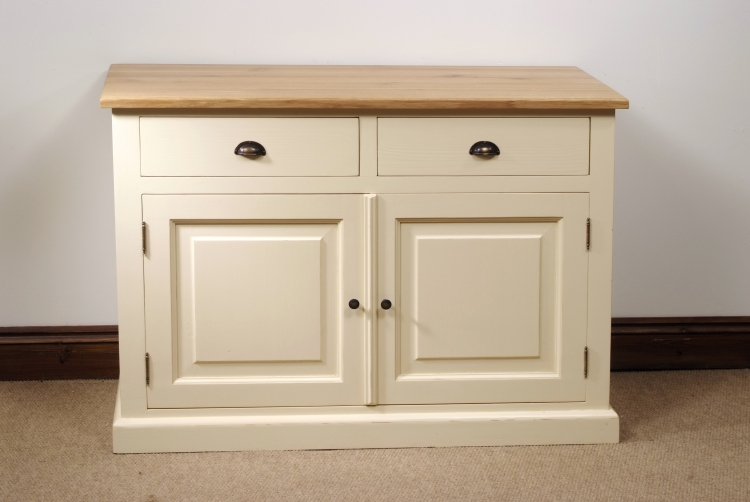 solid painted pine sideboard solid painted pine sideboard with two
