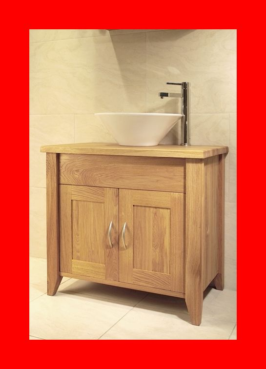 details about venice solid oak bathroom small cabinet washstand