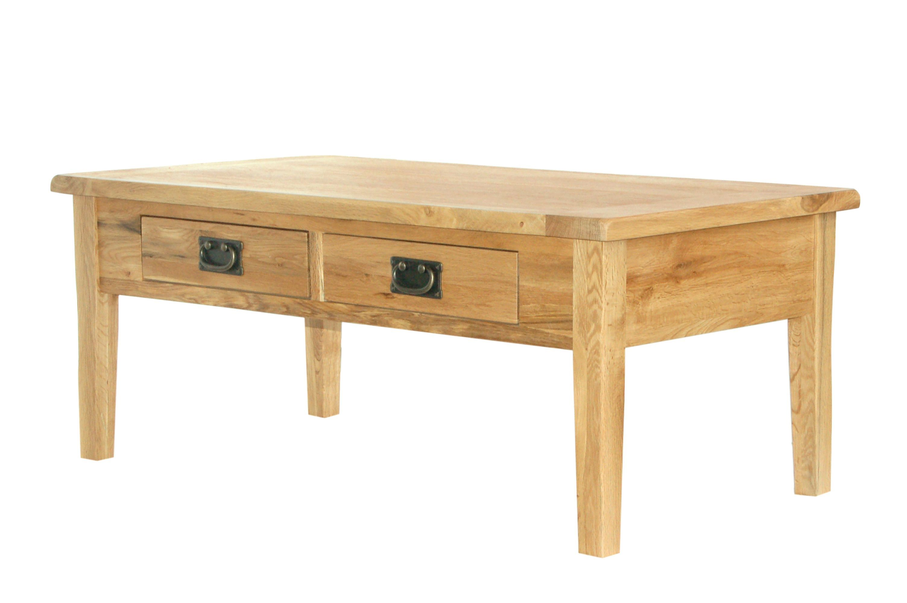 Prima Solid Oak Furniture Storage Coffee Table Ebay