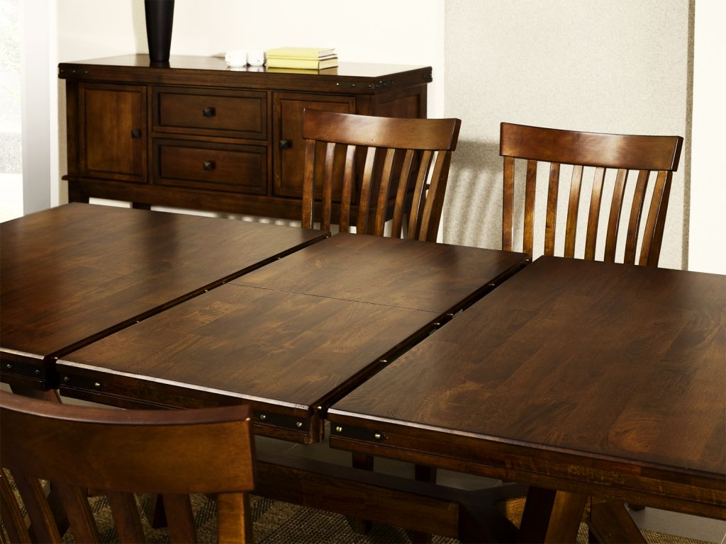 details about cuba dark wood mango furniture extending dining table