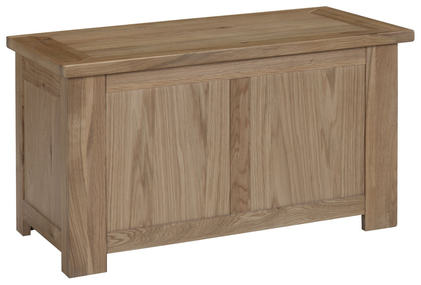 solid oak bedroom furniture blanket storage box trunk chest ebay