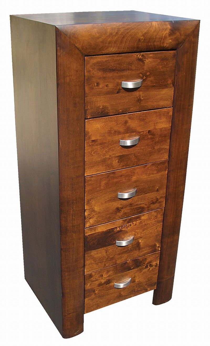 Michigan dark wood furniture tall chest of drawers ebay