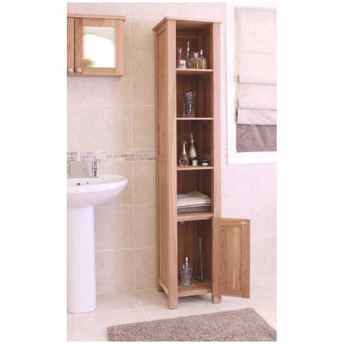 tall oak bathroom cabinet the overall dimensions of the cabinet