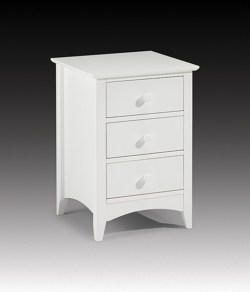 pretoria white painted pine furniture bedside table ebay