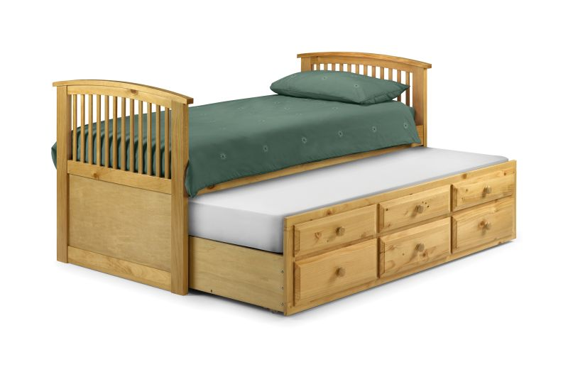 Ridley Furniture 3 Single Bed With Trundle Pull Out