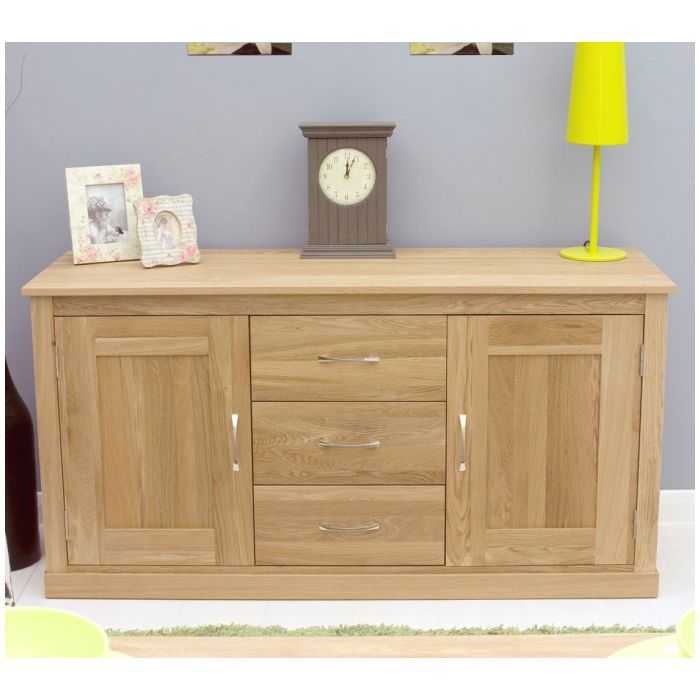 Mobel solid oak contemporary furniture large sideboard ebay for Couch mobel