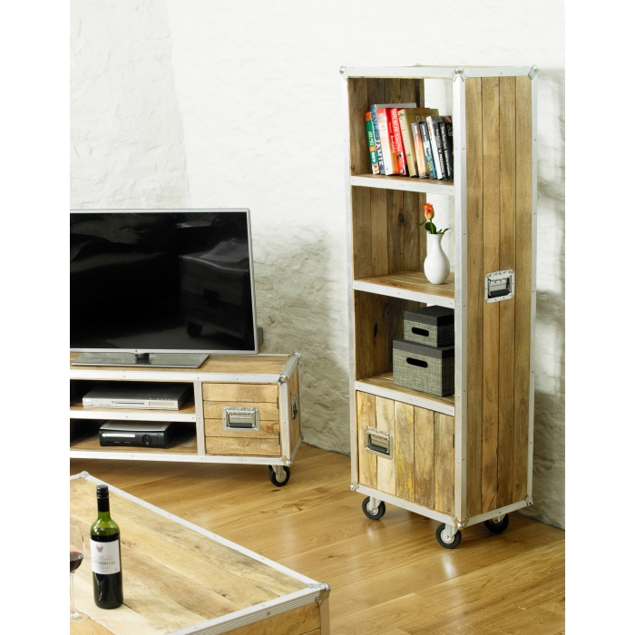 Calgary Chic Reclaimed Wood Furniture Office Cupboard 3