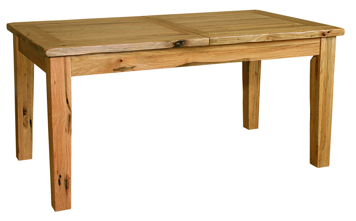 Tuscany solid oak dining room furniture large extending for Solid oak dining table
