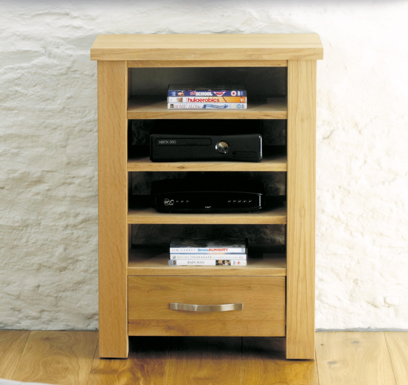 Salisbury Oak Home Furniture Tv Dvd Console Entertainment Unit Ebay