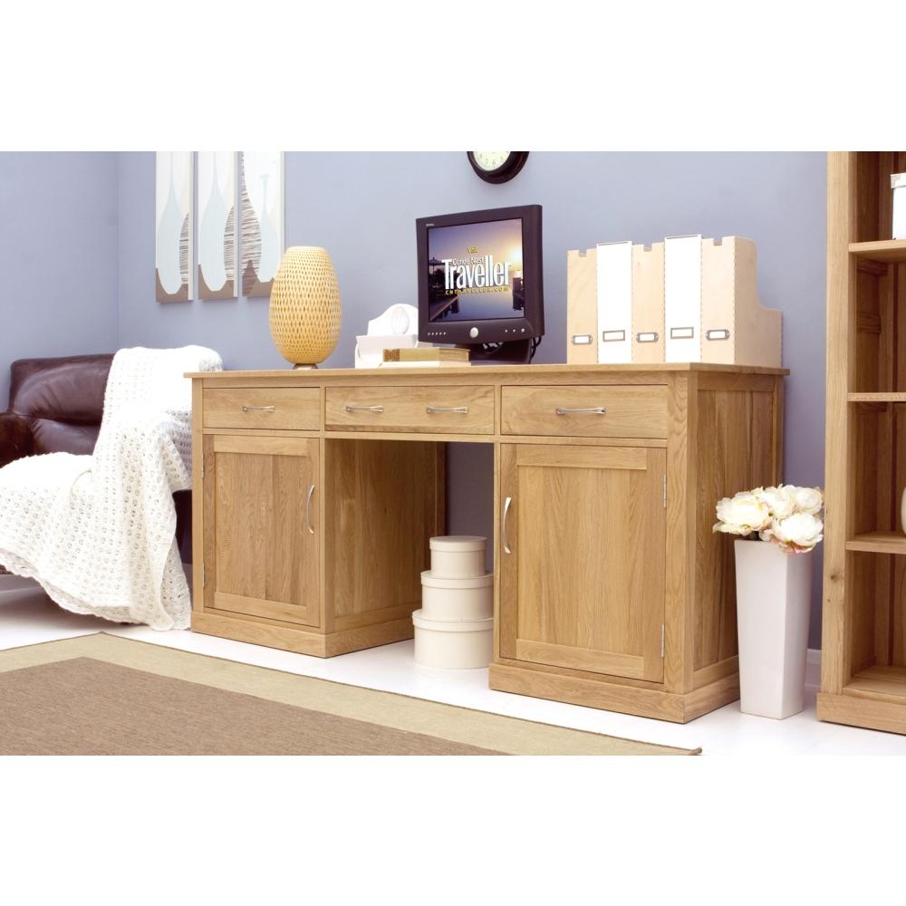 Do It Yourself Home Design: Mobel Desk Large Hideaway Hidden Home Computer Solid Oak