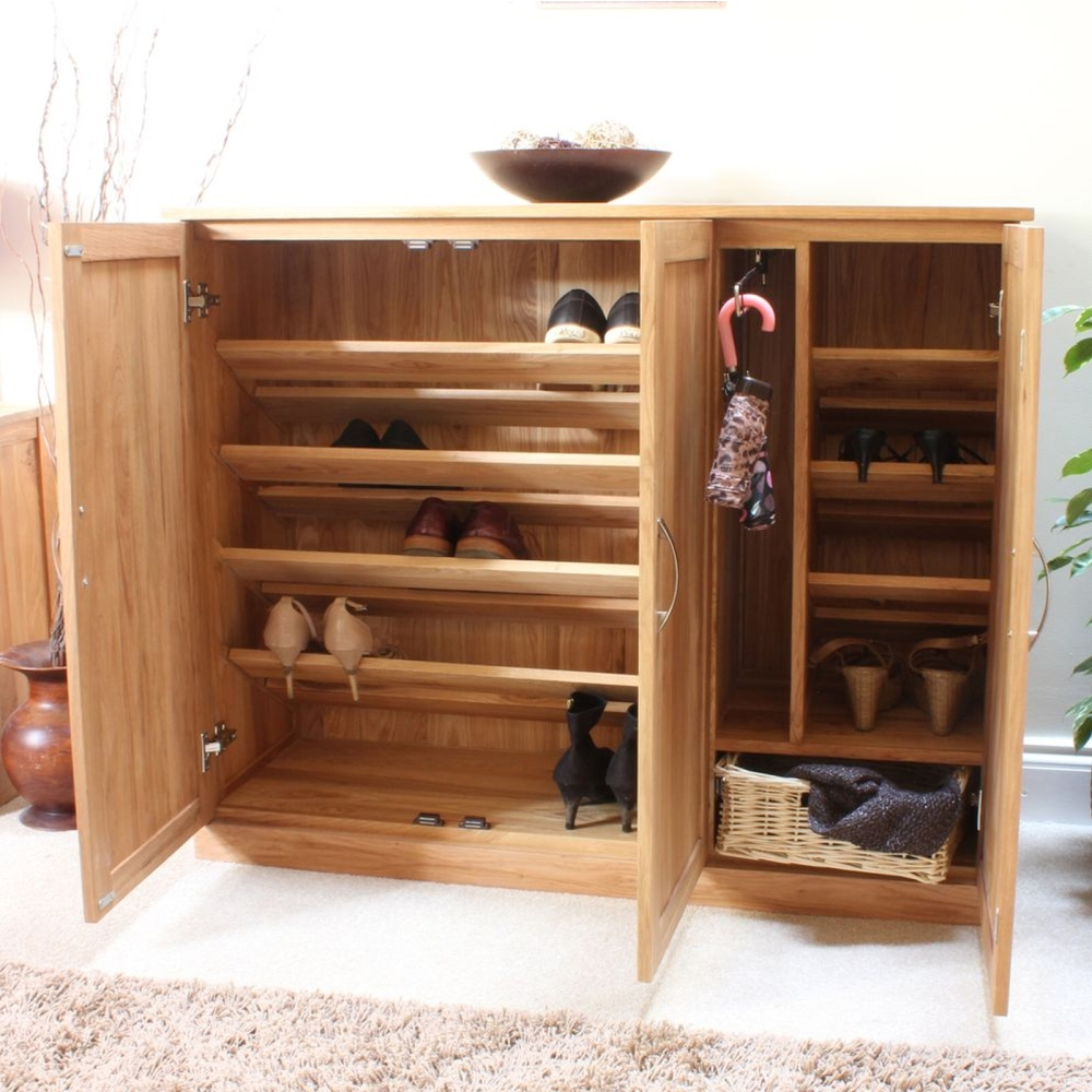 Oak Dining Room Storage Cabinet