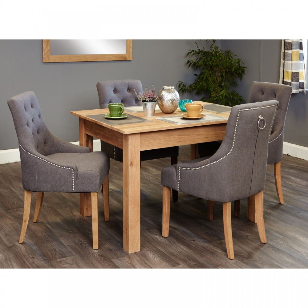 Mobel Solid Oak Dining Room Furniture Small Modern Dining: Mobel Solid Modern Oak Furniture Small Dining Table And