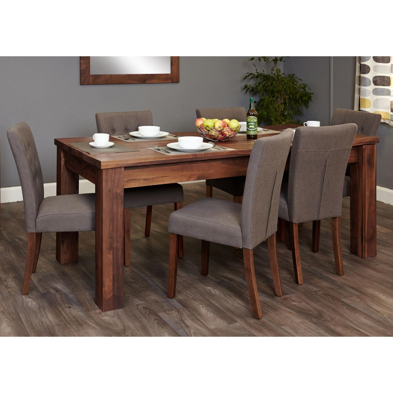 Linea Solid Walnut Furniture Extending
