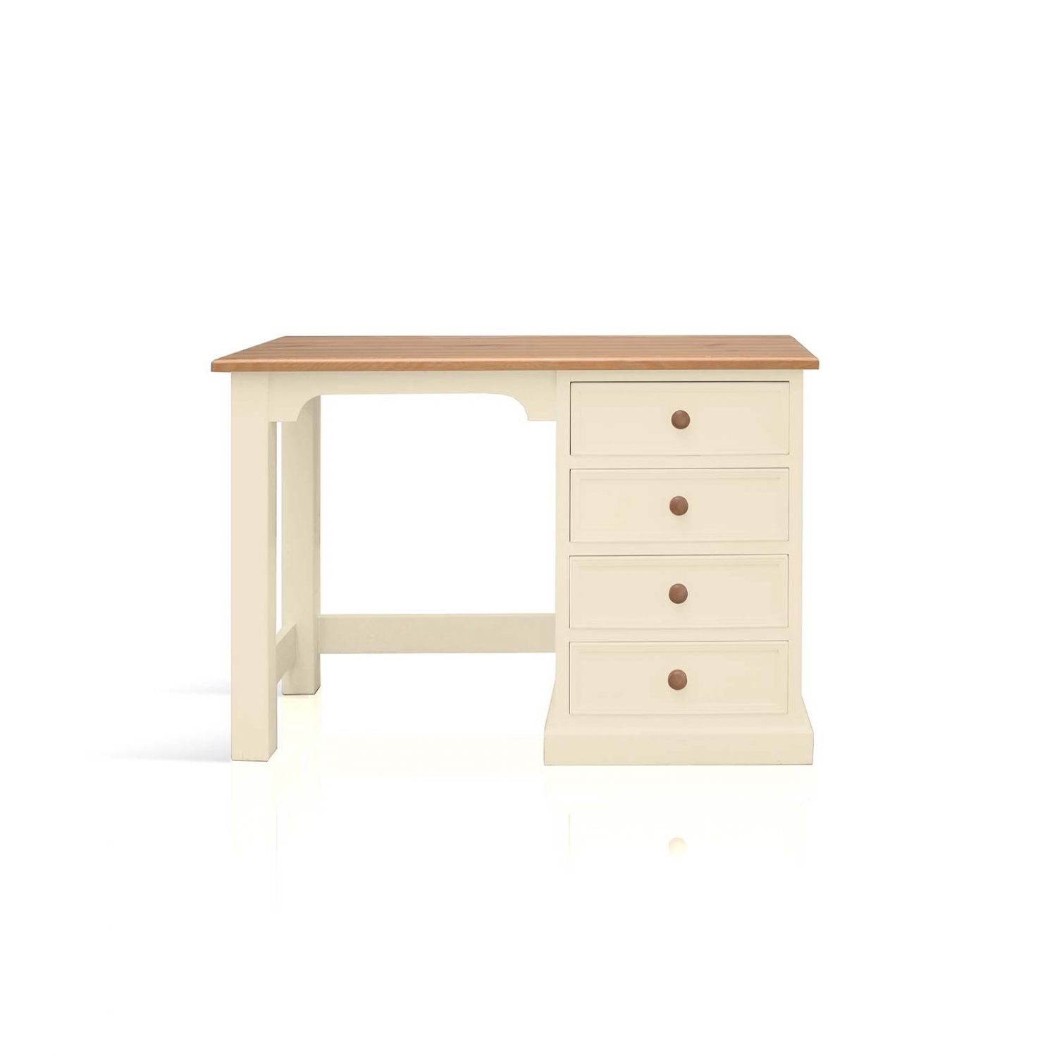 Harrogate Cream Painted Pine Furniture Small Pc Office Computer Desk