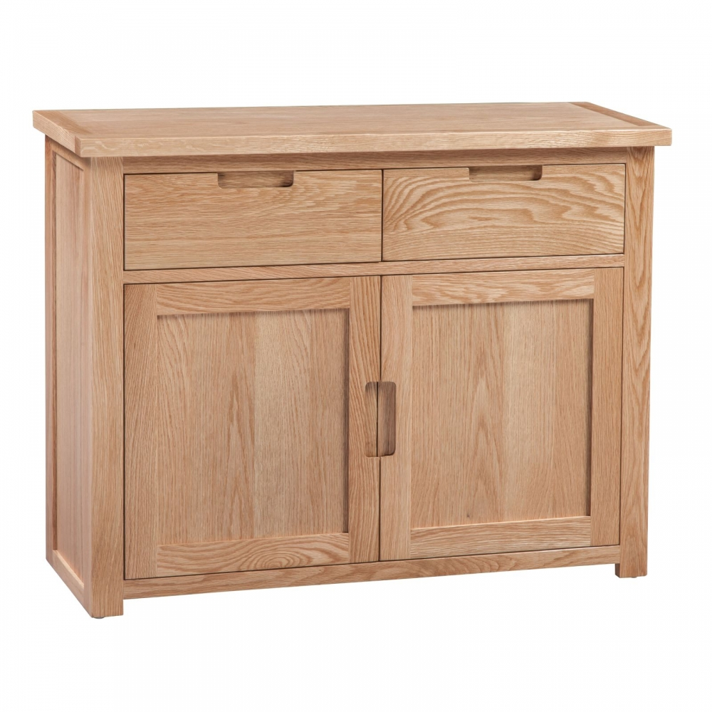 Brixham Oak Living Dining Room Furniture Small Sideboard Ebay