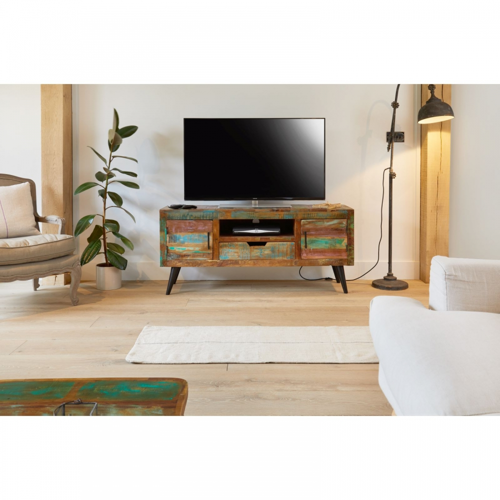 coastal chic furniture. Coastal Chic Widescreen Television Cabinet Stand Unit Reclaimed Indian Furniture C