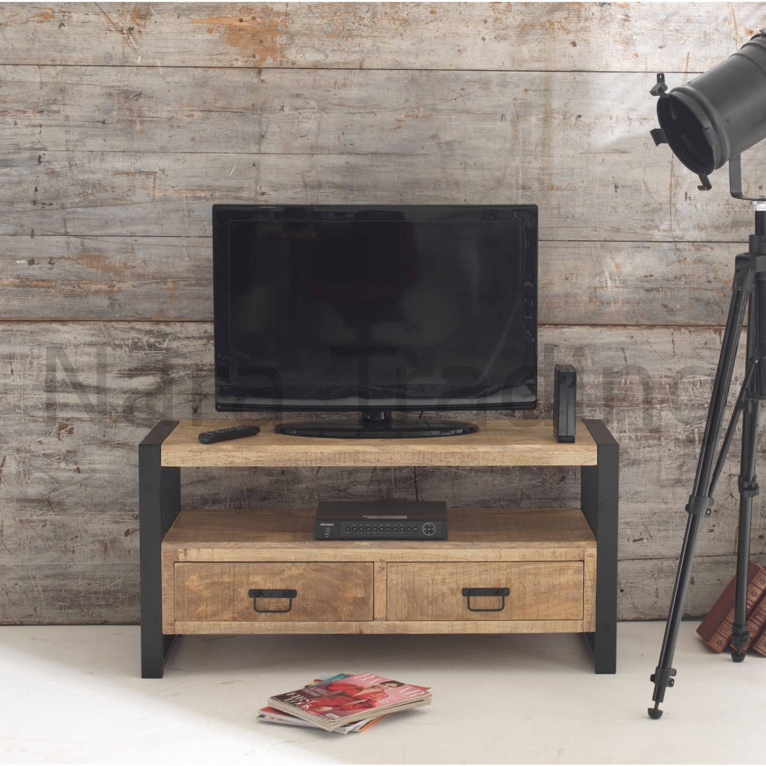 Harbour Indian Reclaimed Wood Living