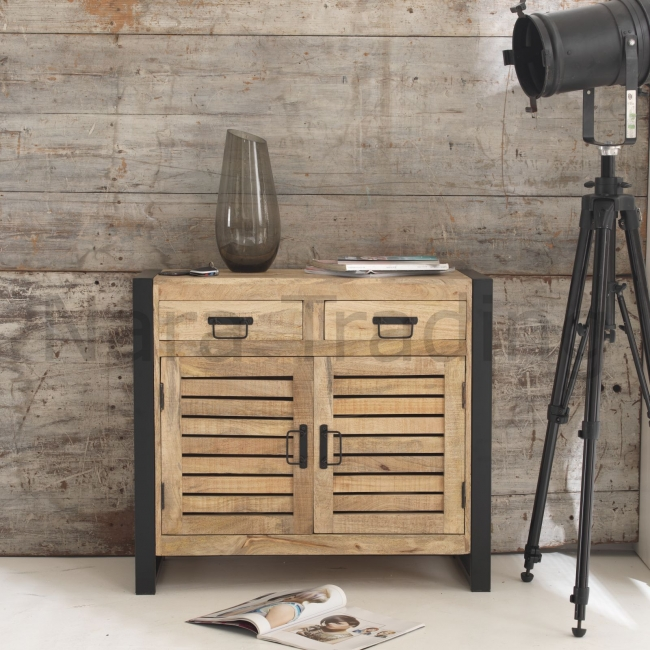 Details About Harbour Indian Reclaimed Wood Furniture Small Dining Room Buffet Sideboard