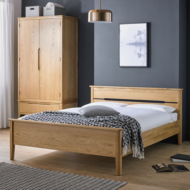 Condor Oak Bedroom Furniture 5 King Size Bed Frame Ebay