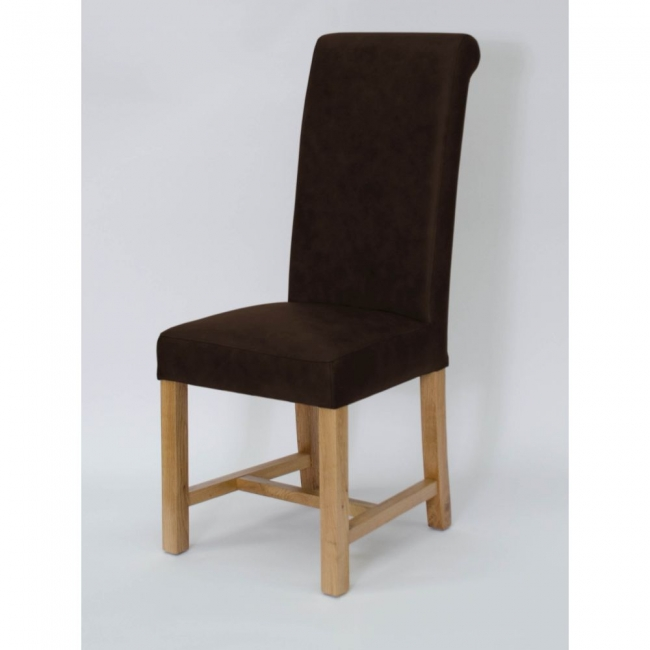 Description Add Some Understated Elegance To Your Dining Room With These Kent Full Leather Chairs