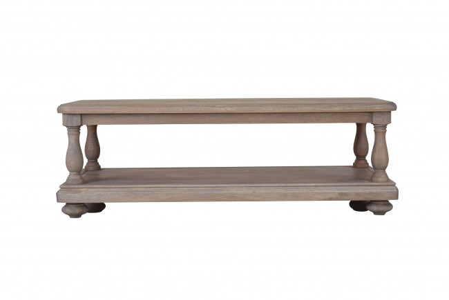 Colton Solid Oak Living Room Furniture Coffee Table With Shelf EBay - Colton coffee table