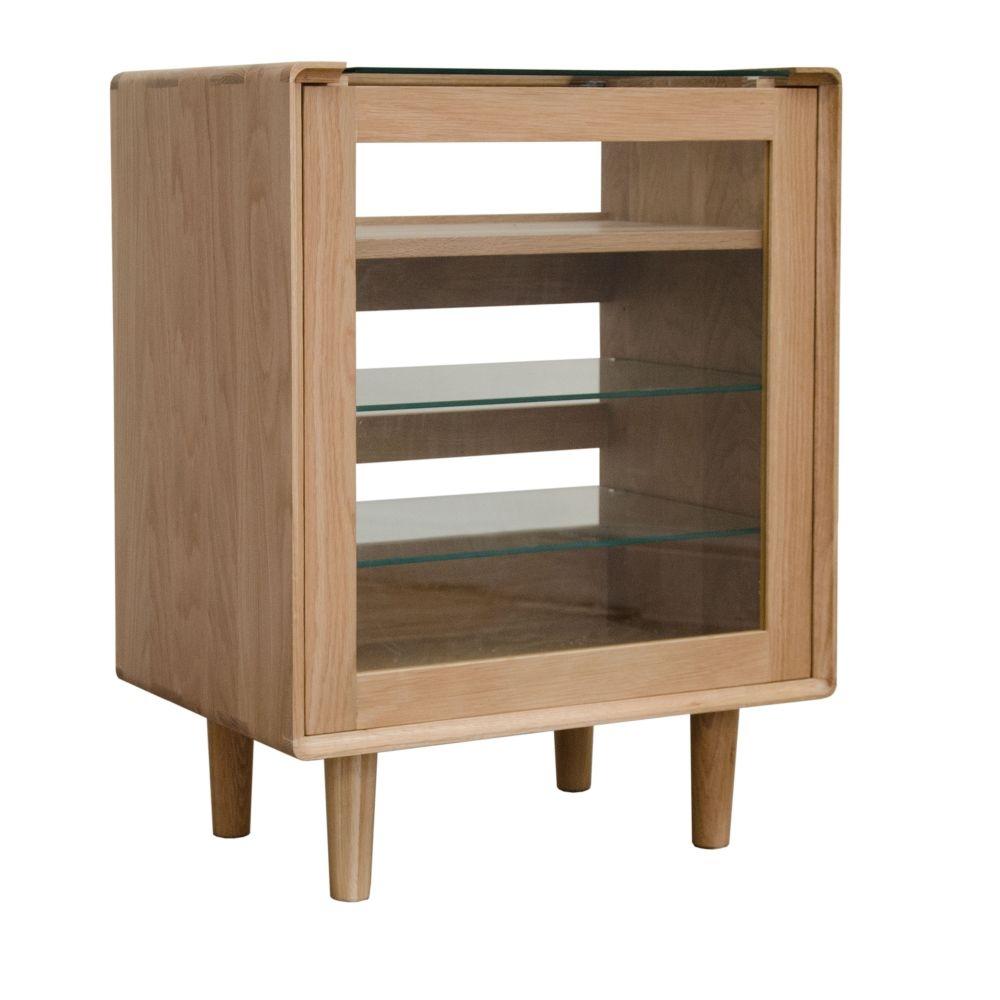 marvellous solid oak living room furniture | Scandic Solid Oak Living Room Furniture Hi-Fi Media ...