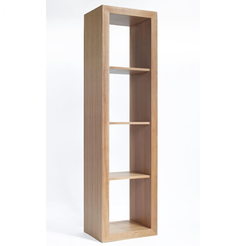 Compton Oak Furniture Four Cube Storage Bookcase Unit