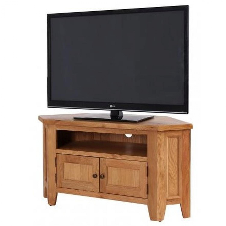 Details about Newland Oak Living Room Furniture Large Corner Television TV  Cabinet Stand Unit