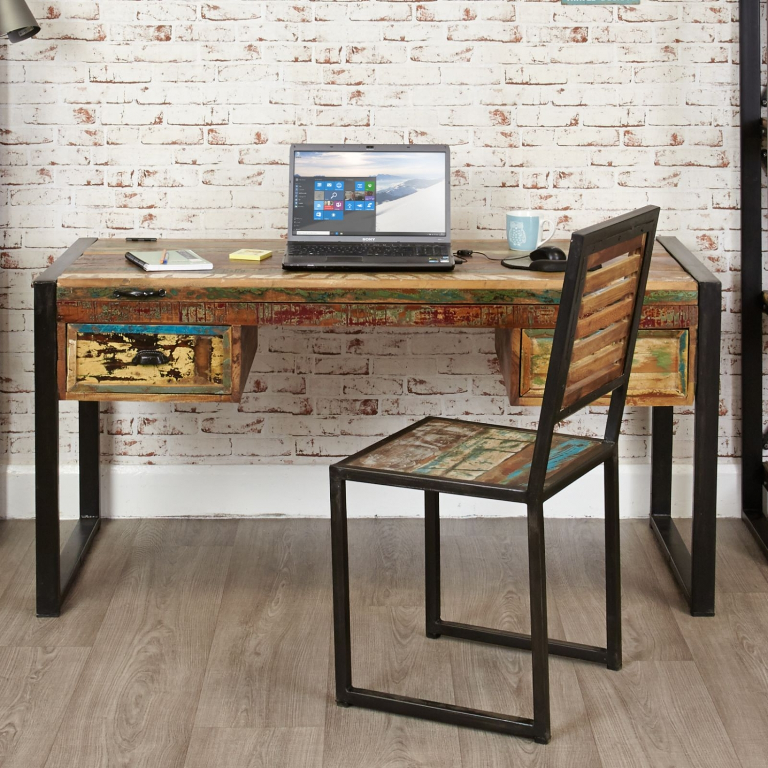 office computer tables. Agra Reclaimed Wood Furniture Laptop Home Office PC Computer Desk Tables O