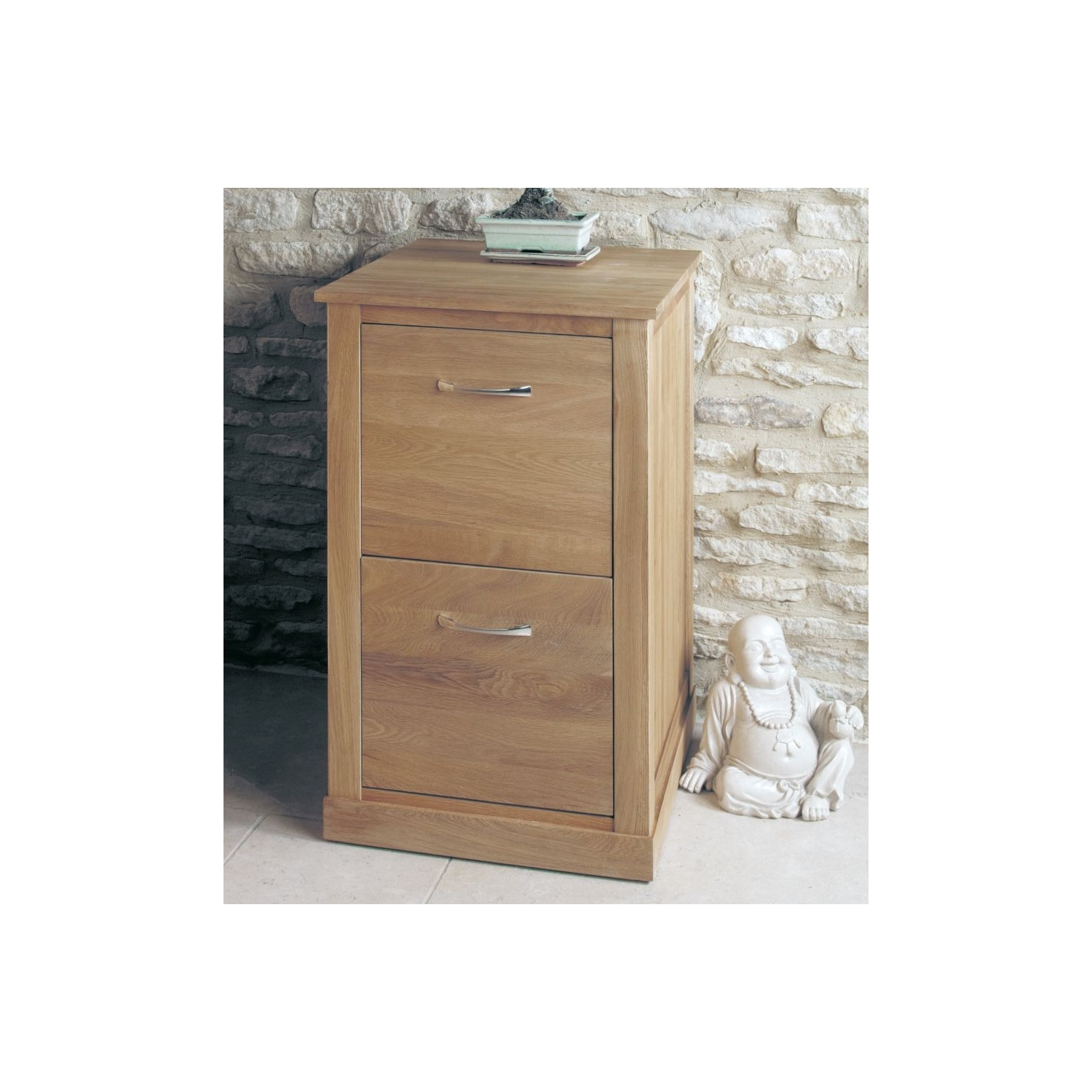 details about mobel solid oak home office furniture two drawer filing storage cabinet