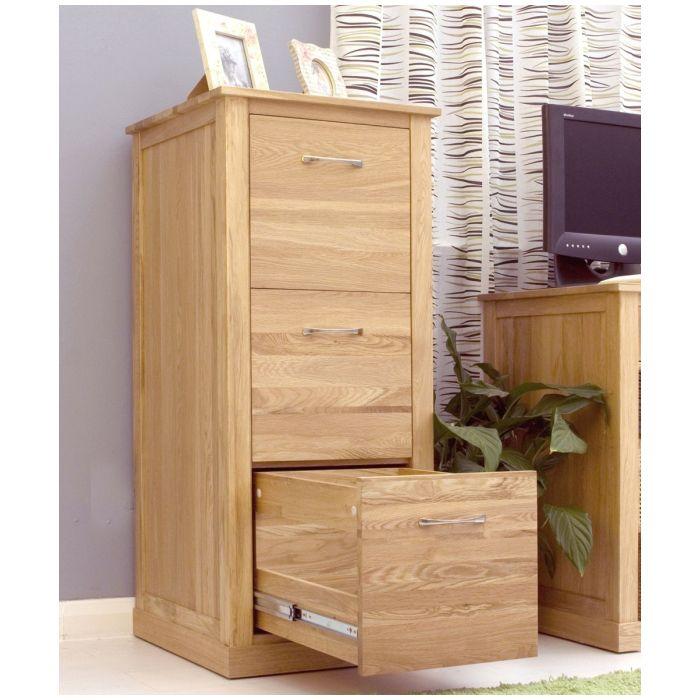 Mobel solid oak furniture large office filing cabinet and felt ...