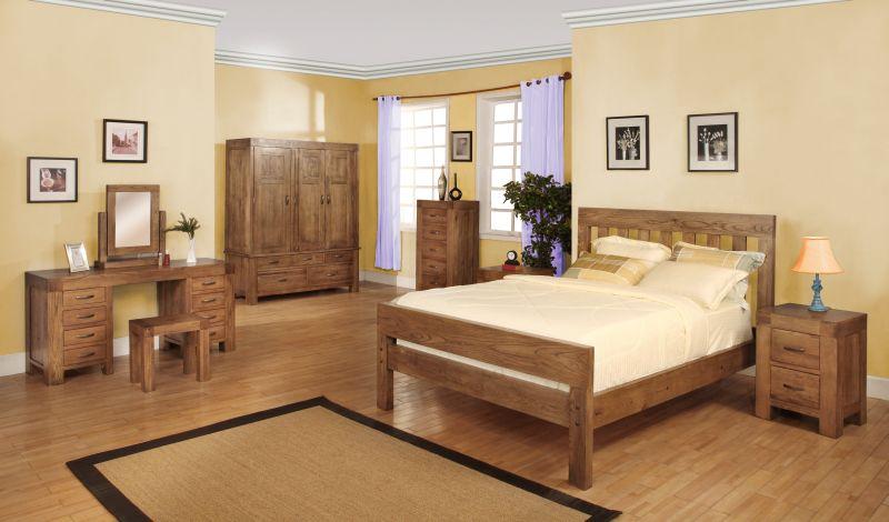 Hena solid oak bedroom furniture large dressing table. Hena solid oak bedroom furniture large dressing table   eBay